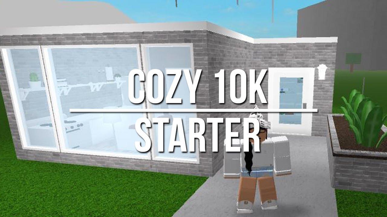 Welcome To Bloxburg: Cozy 10k Starter - YouTube