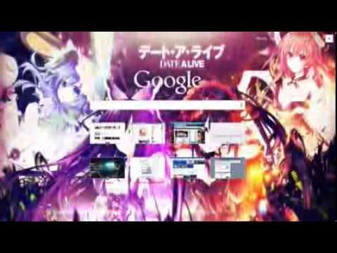 Date A Live Theme Google Chrome