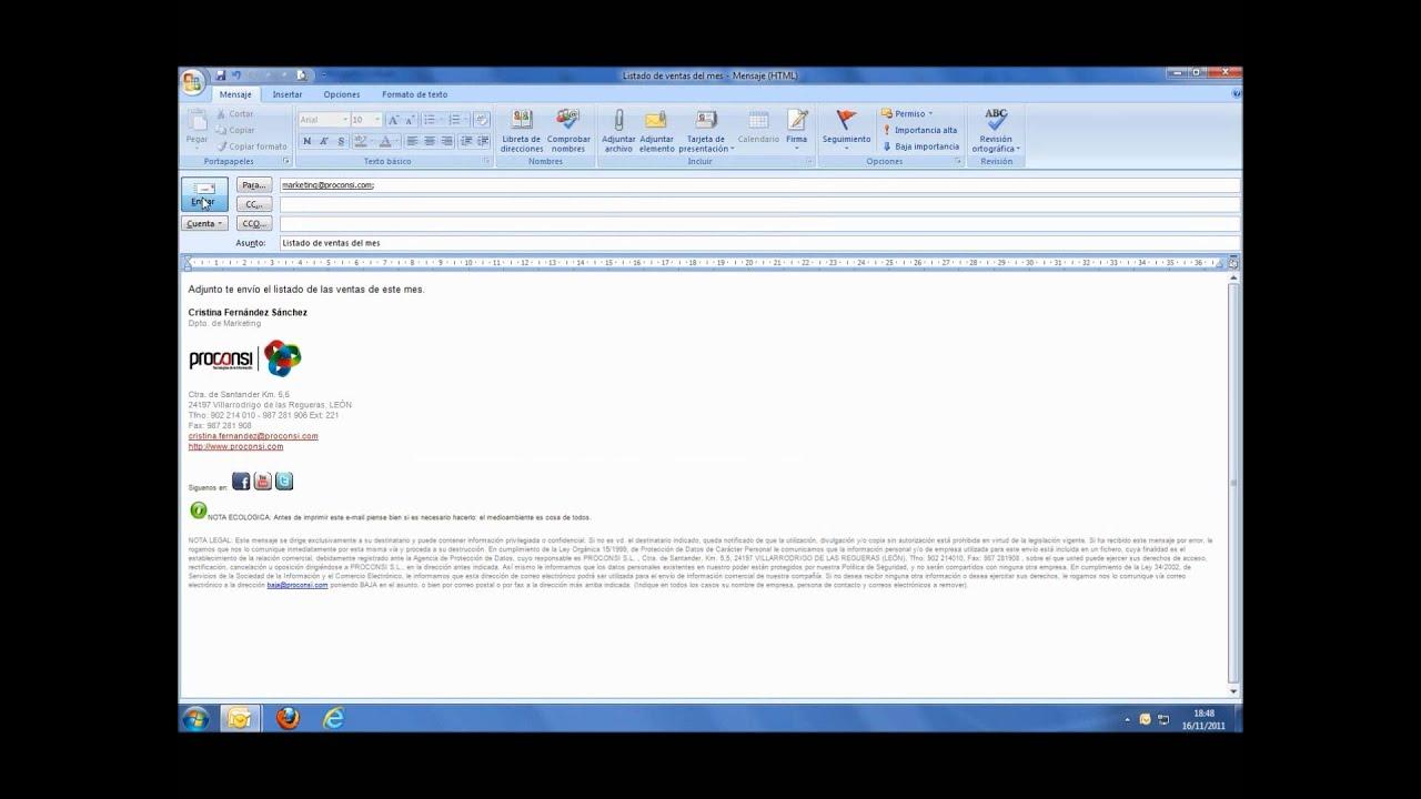 Vídeo Tutorial - Cómo crear una plantilla de correo electrónico ...