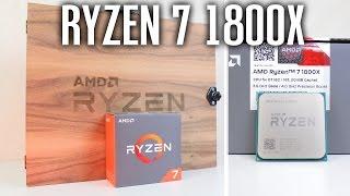 RYZEN 7 1800X Reviewer's Kit Unboxing von AMD | DEUTSCH