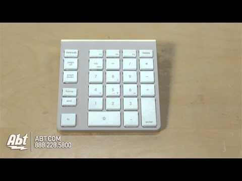 Newer Technology Wireless Aluminum Keypad NWTKPA28BTW Overview