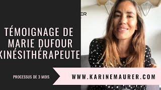 TÉMOIGNAGE de Marie DUFOUR