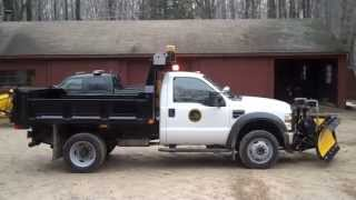 2010 Ford F-450 Dump with Whelen DOT LED Lighting Package