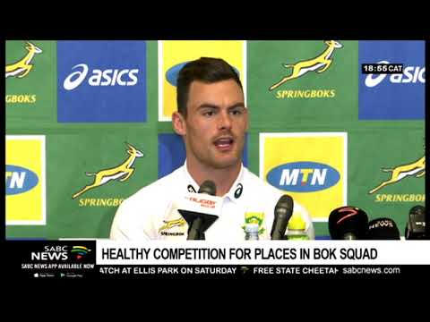 Healthy competition for places in Boks squad