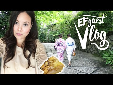 Sarah from Switzerland/Japan - EF Guest Vlog about Tokyo
