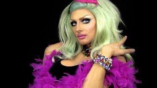 Sillycon Drop for Make Up International Magazine / Kryolan - Glam Mermaid Tutorial Thumbnail