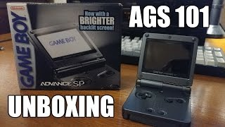 Best Gameboy ever? GBA SP AGS 101 Unboxing