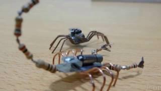 Cara Buat Robot Kalajengking Paling Mudah dan Sederhana