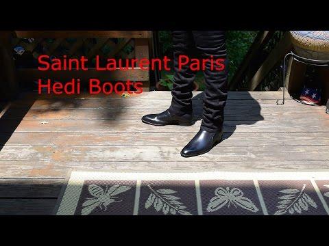 Saint Laurent Hedi Boots Review