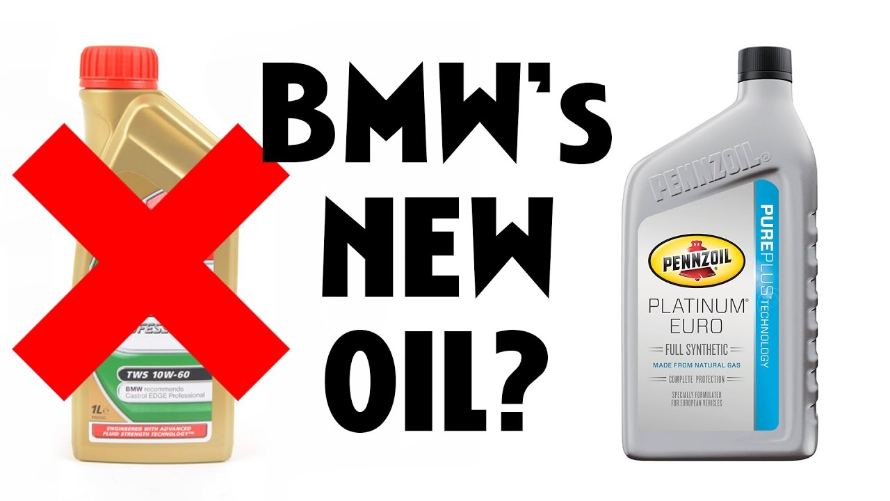 Bmw switched oils for a good reason your new e92 m3 oil for How is motor oil made
