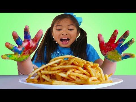 Johny Johny Yes Papa Song | Wendy Pretend Play Wash Hand & Brush Teeth Nursery Rhymes Songs
