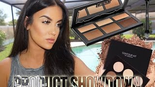 Product Showdown | Anastasia Beverly Hills Contour Kit VS. Kat Von D Shade & Light Palette