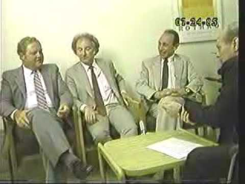 Edward Rosenfeld (1st 20 Mins.) & Dr. Leon Cooper, Dr. Charles Elbaum, Dr. Douglas Reilly, Mr. Terry Rollo - 07-24-85 Original air date