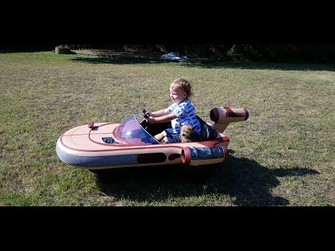 Star Wars Luke Skywalker's Landspeeder -  Ride-On From Radio Flyer - Power Wheels