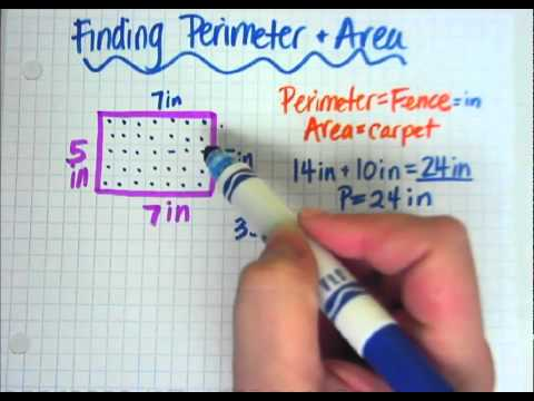 Finding perimeter and area youtube ccuart Gallery