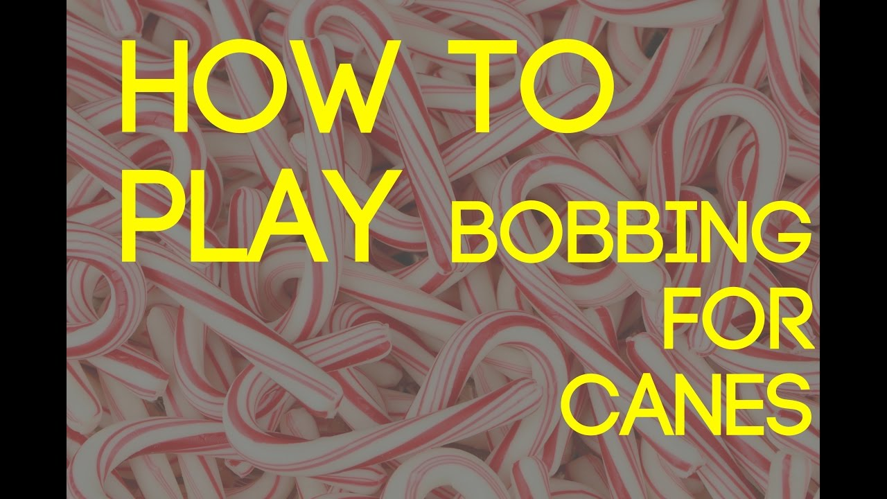 how to play bobbing for candy canes party game christmas party game ideas