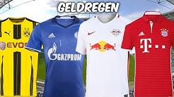 Die Einnahmen der Bundesligavereine durch ihre Trikotsponsoren