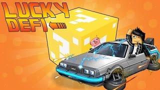 LUCKY DÉFI ! | Furious Jumper  - JE RETOURNE DANS LE PASSÉ ! (Animation Minecraft + Lucky défi ! )