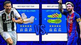 Right Foot ALL-STARS vs. Left Foot ALL-STARS! - FIFA 19 Career Mode