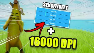 Fortnite MAX SENSITIVITY Challenge