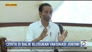 Presiden Jokowi Yakin Bisa Capai Target Vaksinasi