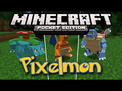 how to get pokemon mod in minecraft pocket edition