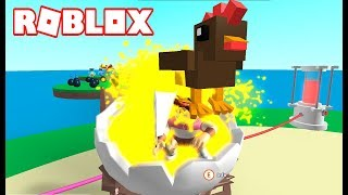 THIS POOL GAME IS ADICTIVE! - ROBLOX EGG FARM SIMULATOR in Spanish