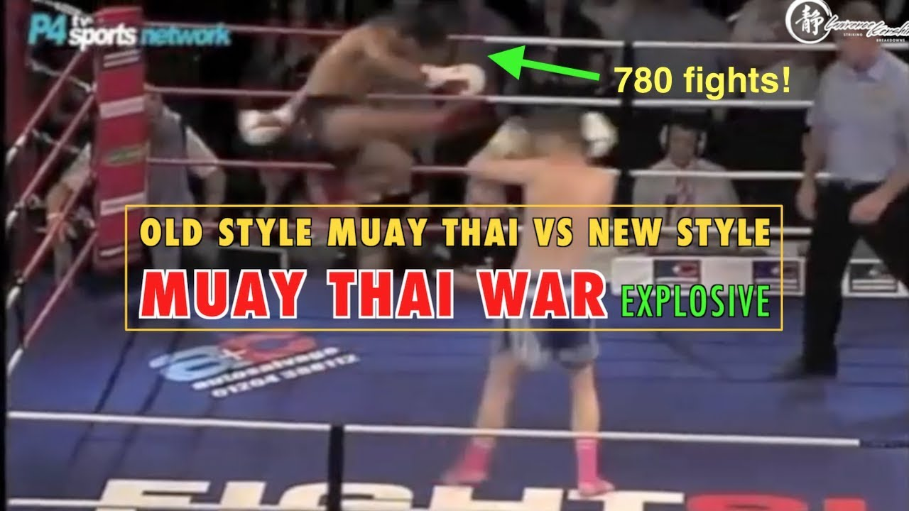 Explosive War: Old Style vs New Style Muay Thai