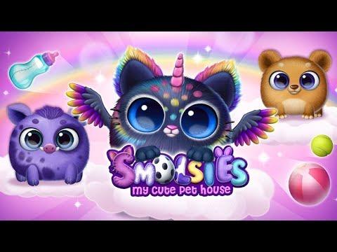 Smolsies - Мои Милые Виртуальные Питомцы #1 игра про малышей пушистиков которые вылупляются из яиц