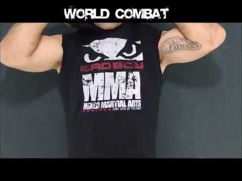 Camiseta Bad Boy MMA Dont Give c Capuz - Preto - YouTube d56c1f16009