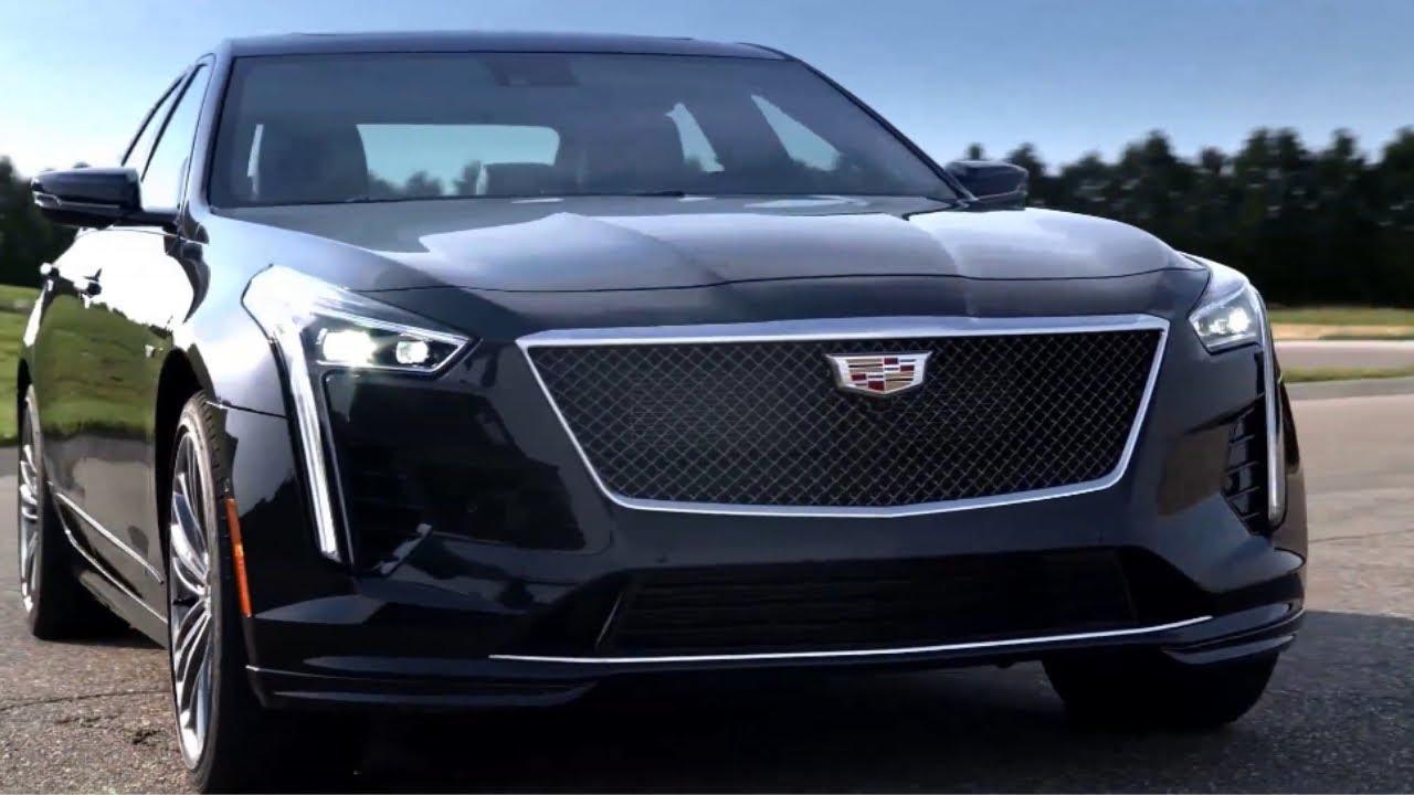 2020 Cadillac Ct6 V Sport Sedan Unveiled Youtube