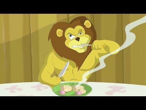 Eena Meena Deeka   Lions Dinner   Funny Cartoon Compilation   Cartoons for Children