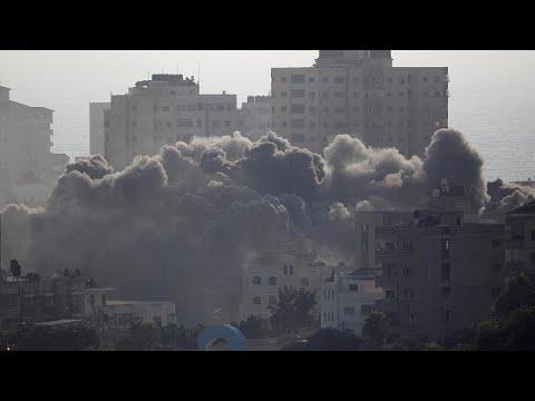 Israel pounds Hamas targets in Gaza