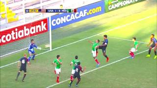 CU20 2017: United States vs Mexico Highlights