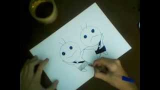 How to draw Gemini/ Como se desenhar Gemini (Fairy Tail)