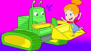 Groovy el marciano juega con Lego y ayuda a construir la calle -  Dibujos infantiles thumbnail