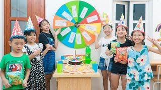 Kids Go To School | Chuns Learn With Friends The Lesson Was Memorable And Birthday Cake
