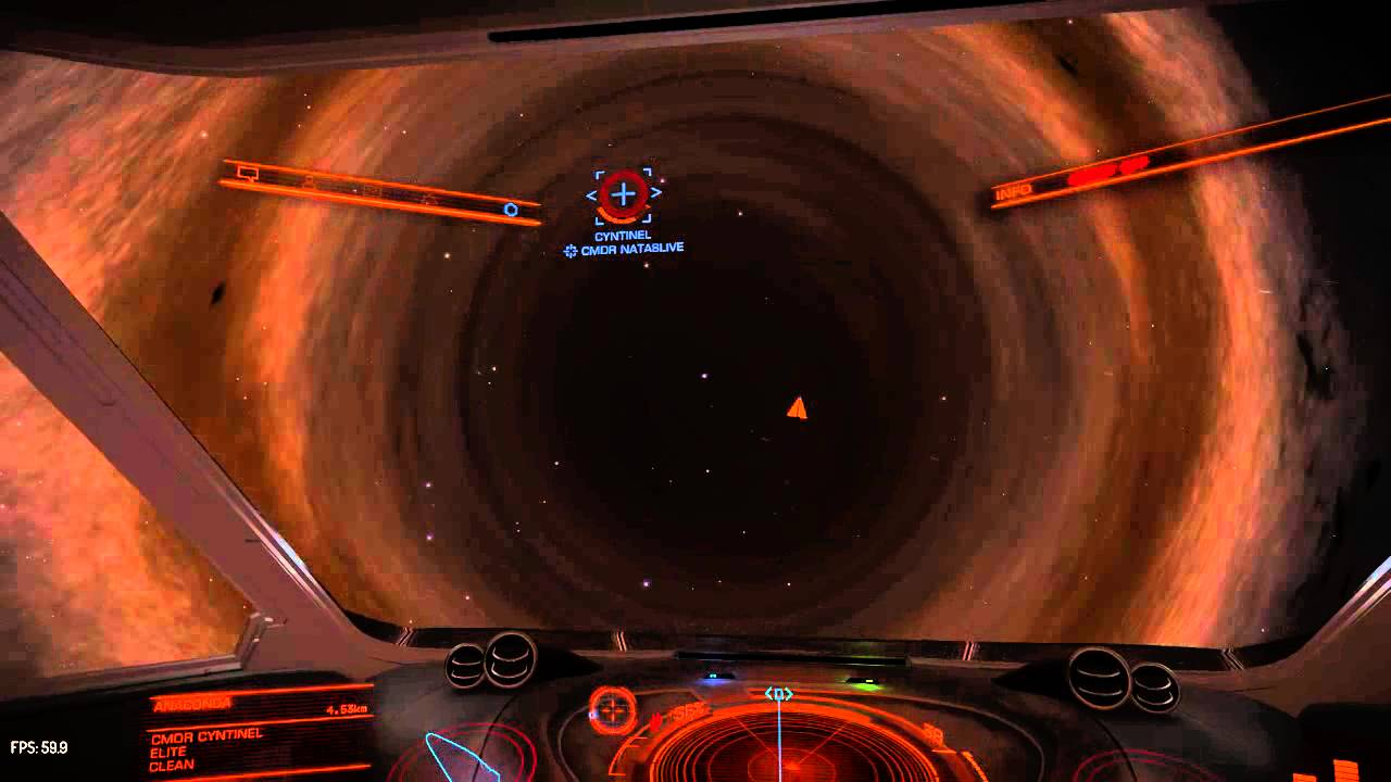 Elite:Dangerous Very interesting black hole system HIP ...