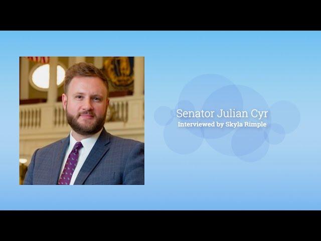 Interview with Senator Julian Cyr