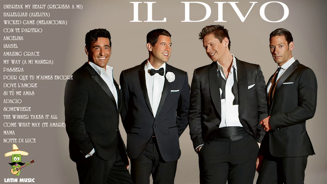 Il divo grandes exitos il divo sus mejores exitos il divo greatest hits full album youtube - Album il divo ...