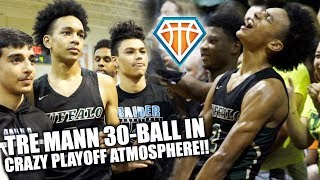 Tre Mann TAKES OVER IN WILD PLAYOFF ATMOSPHERE!! | 30 BALL Leads The Villages to STATE FINAL 4
