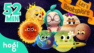 [ALL] Hogi's Space Exploration | Booksplore: Planet Exploration Cartoon | Learn with Hogi & Pinkfong
