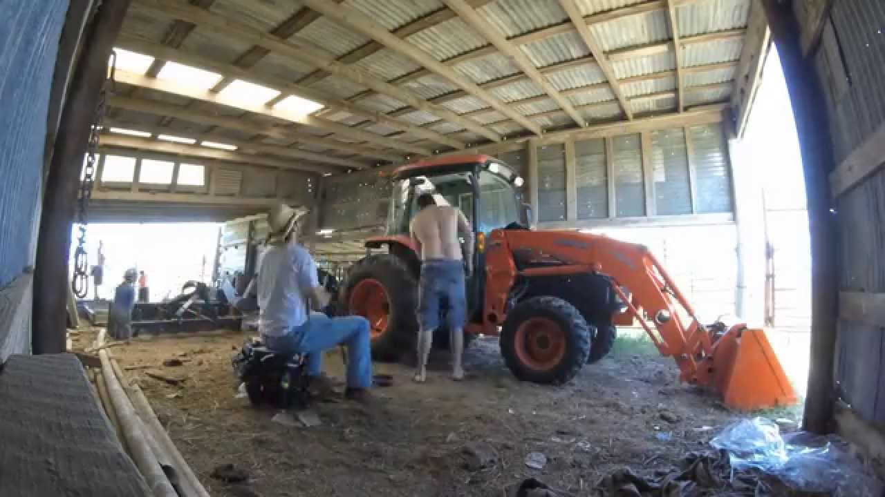 Tractor Glass Replacement : Tractor glass repair timelapse youtube