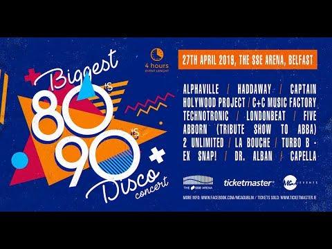 Biggest 80s - 90s disco concert Belfast 27th April 2019 Mp3