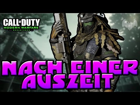 NACH EINER AUSZEIT - ♠ COD: MODERN WARFARE REMASTERED ♠ - Deutsch German - Dhalucard