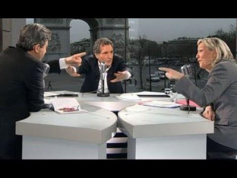 Mélenchon met une raclée à Marine Le Pen (CLASH)