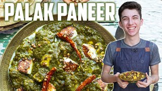 Restaurant Style Palak Paneer | Eitan Bernath