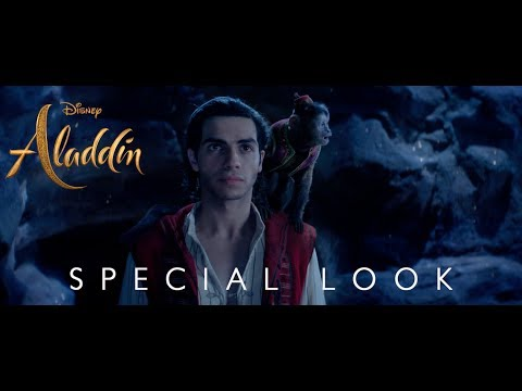 None - Disney's Live Action Aladdin Trailer Out!