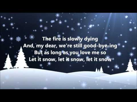 Dean Martin - Let It Snow (Lyrics)