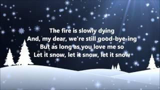 Dean Martin   Let It Snow (lyrics)